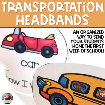 First Day Transportation Headbands