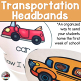 First Day Transportation Headbands