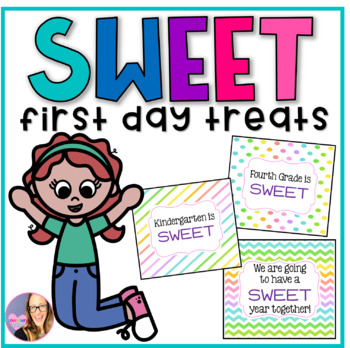 First Day Treat Labels- Sweet