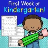 First Week of School Activities (Beginning of the Year Activities, Kindergarten)