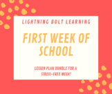 First Day and Week of School -- BACK TO SCHOOL Bundle!