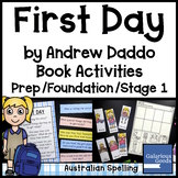 First Day by Andrew Daddo - Book Activities