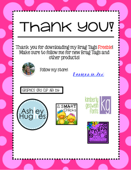 First Day of 2nd Grade Brag Tag Freebie!