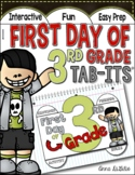 First Day of 3rd Grade Tab-Its®