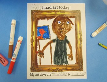 First Day of Art Activity