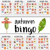 First Day of Fall Bingo Game