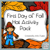 First Day of Fall Hat Activity Pack