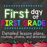 First Day of First Grade | First Day of School