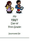 First Day of First Grade Booklet