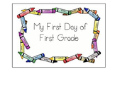First Day of First Grade Mobile