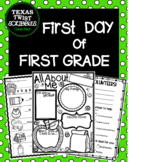 First Day of First Grade {Texas Twist Scribbles}
