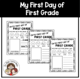 First Day of First Grade Writing Activity