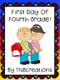 First Day of Fourth Grade Packet