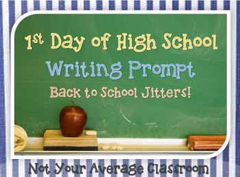 First Day of High School Writing Prompt With Outline Guide
