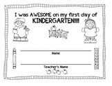 First Day of K Certificate