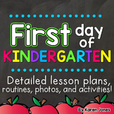 First Day of Kindergarten   First Day of School