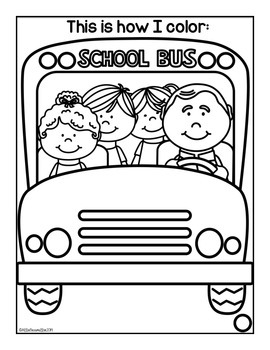 First Day of Kindergarten: Activity Book
