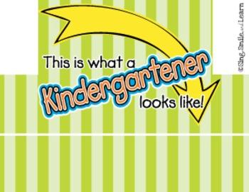 First Day of School Crowns **Kindergarten**
