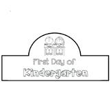 First Day of Kindergarten Crown