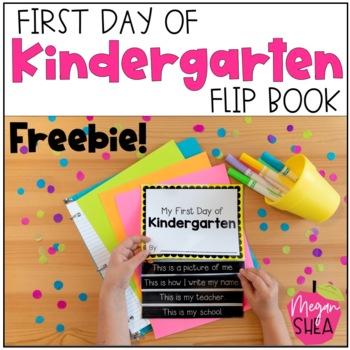 First Day of Kindergarten Free