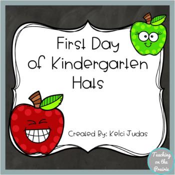 First Day of Kindergarten Hats