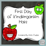 First Day of Kindergarten Hats
