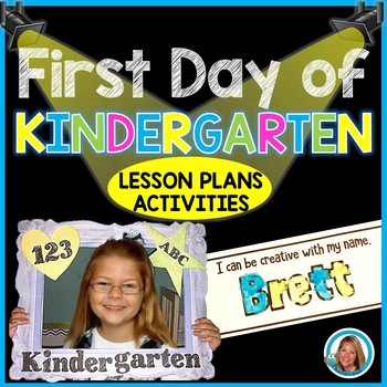 First Day of School Activities for Kindergarten - First Day Lesson Plans