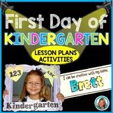 Back to School Activities | First Day of School Activities for Kindergarten
