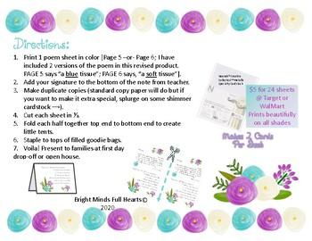 First Day of Kindergarten Parent Poem