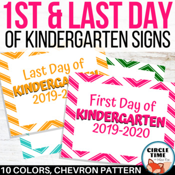 photograph about Last Day of Kindergarten Printable referred to as To start with Working day of Kindergarten Indicator, Printable 1st Working day of College or university Signal 2019-20