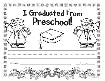 Preschool Graduation Award - Free