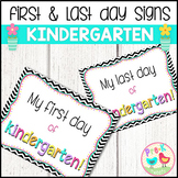 First Day of Kindergarten Sign