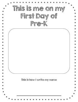 First Day of PreK