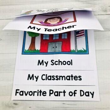 First Day of School Flip Book