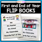 First Day of School Flip Book / End of the Year Flip Book