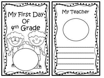 First Day of School: First Day of 4th Grade