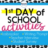 First Day of School Activities - Building a Classroom Community