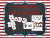 First Day of School Activities: With Dr. Seuss Inspired Certificates