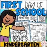 First Day of School Activities for Kindergarten