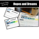 First Day of School Activity: Hopes and Dreams