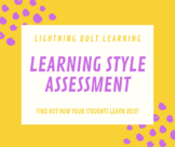 First Day of School Activity -- Learning Style Assessment