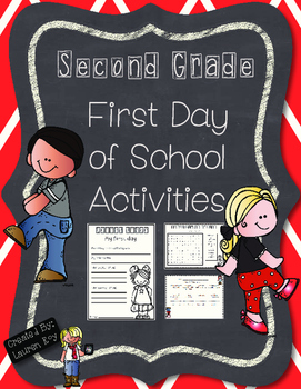 First Day of School Activity Pack---Second Grade