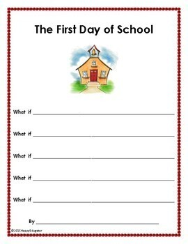 First Day of School FREE