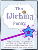 First Day of School Activity-Wishing Penny Tour