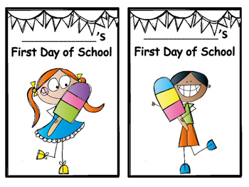 First Day of School Activity for 2nd and 3rd Grade