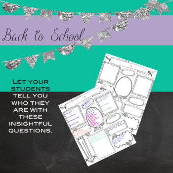 "First Day of School ""All About Me"" Questionnaire"