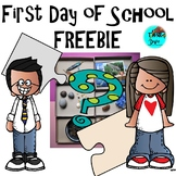 First Day of School -  FREEBIE - Ask Wonder Questions