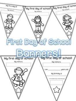 First Day of School BANNER
