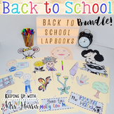 Back to School Lapbook Bundle