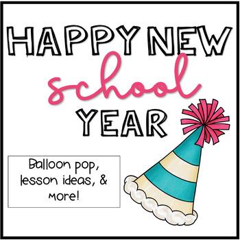 Happy New School Year: Balloon Pop
